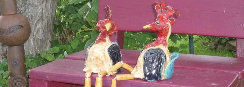 Die verliebten Hühner